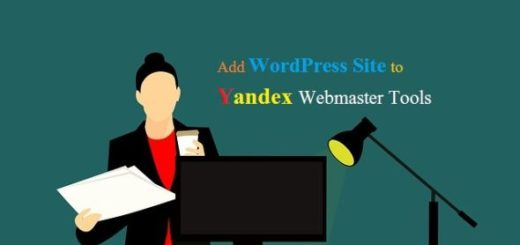 Add WordPress Site to Yandex Webmaster Tools
