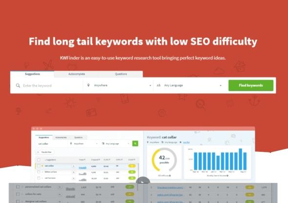 kwfinder, best keyword research tool