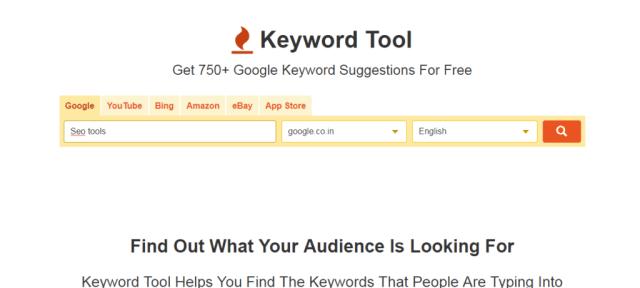 keywordtool.io, best keyword research tool