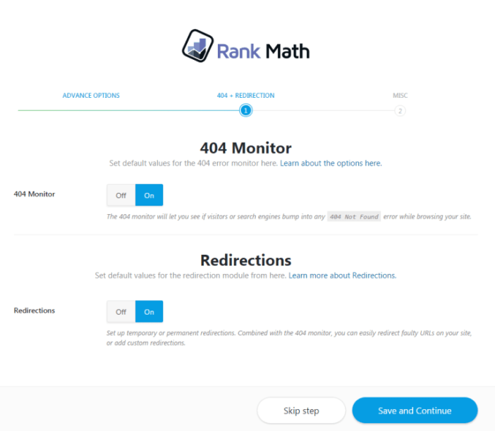 Rank Math SEO Plugin Settings