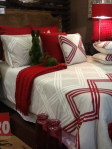 Belgrove quilt cover set, now in our front window on display. Queen size only $129.95