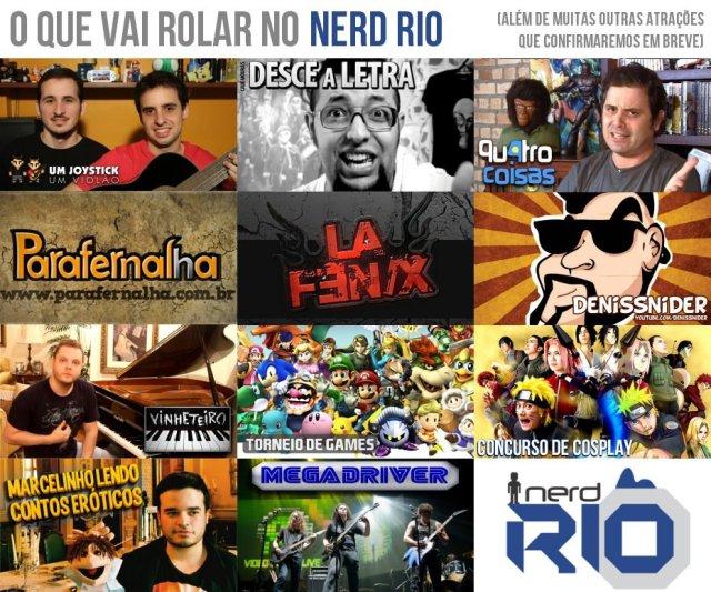 Mais um evento nerd para sua agenda: Nerd Rio!