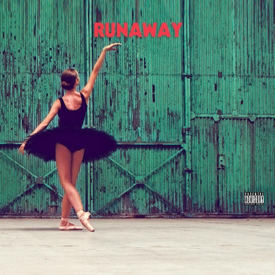 Cartel de la película Runaway de Kanye West