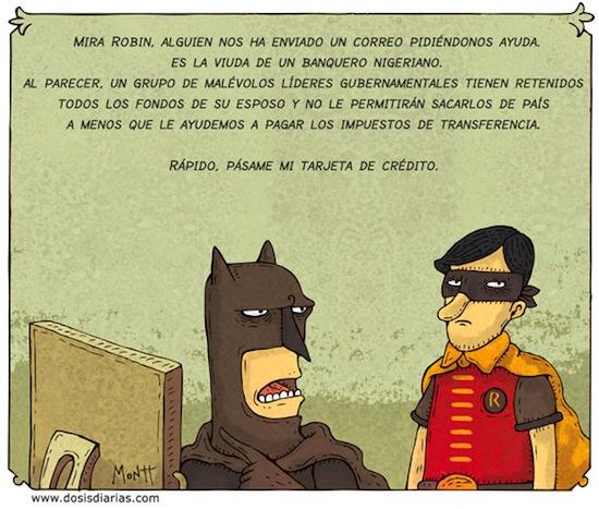 Batman y Robin según Alberto Montt