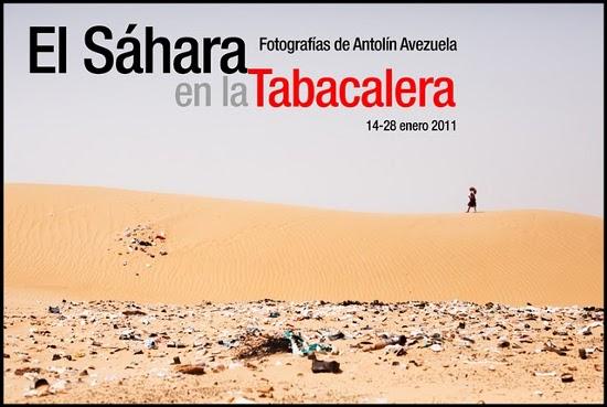 Exposición en La Tabacalera de Antolin Avezuela y Marisa Mártil sobre el Sáhara