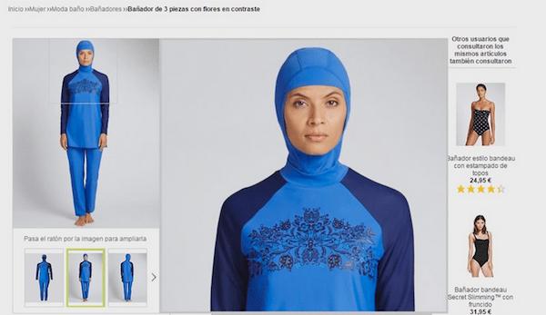 Venta de burkinis online