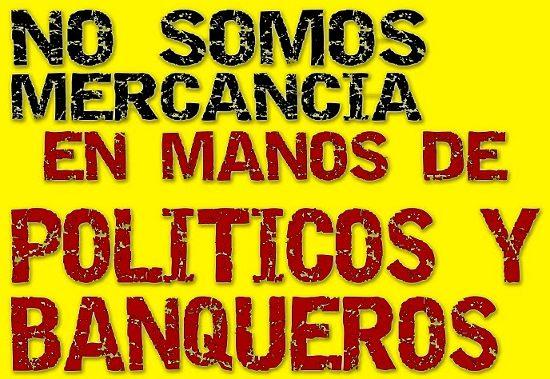 Cartel de Democracia Real Ya en Granada