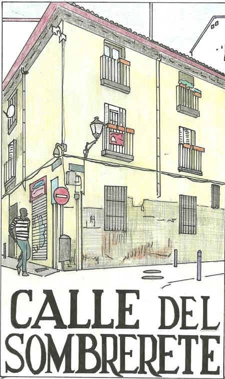 Placa de la calle Sombrerete, por Diana Larrea