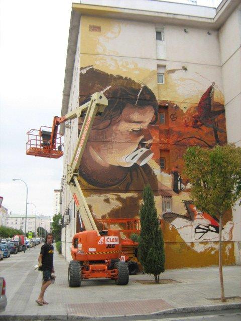 Obra de El Niño en el Arte para todos de Sevilla