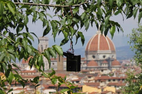 Sound-tossing: Lanzamiento de sonidos en Florencia