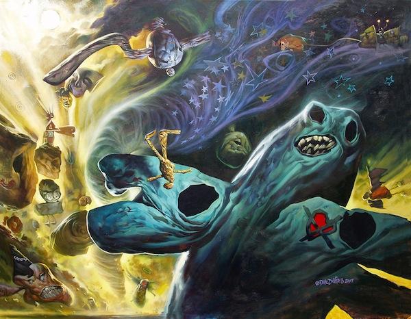 The Monster Engine de Dave DeVries