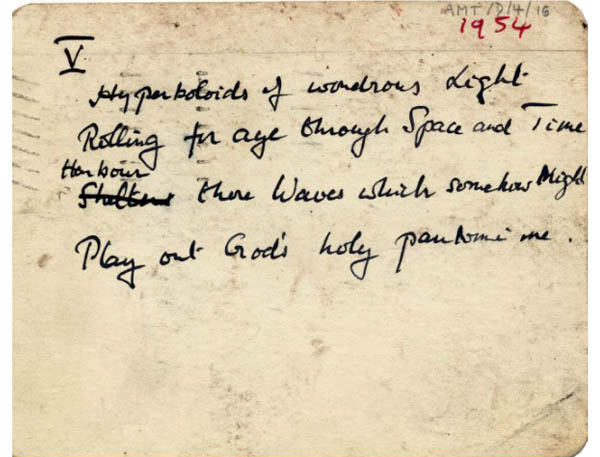 Poema/Epitafio de Alan Turing