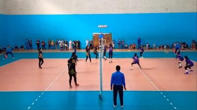 Kabar Baik, Tim Bola Voli Putri Depok Kantongi Tiket Babak Utama Porpov Jabar