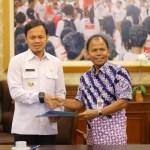 Pemerintah Kota Bogor terima hibah tanah dan bangunan dari Pemkab Bogor
