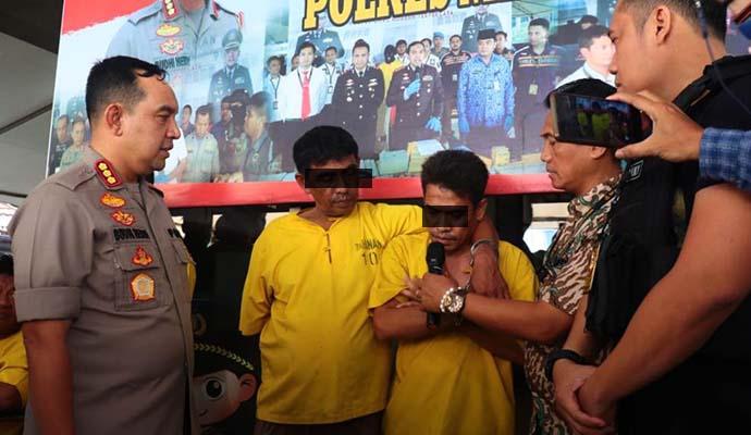 Polrestro Jakarta Utara Bongkar Penipuan Perbankan Lewat Atm