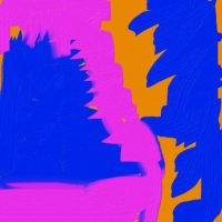 Digital art to show narrative quality of abstract patterns