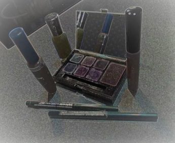 Stylized photo of cosmetics