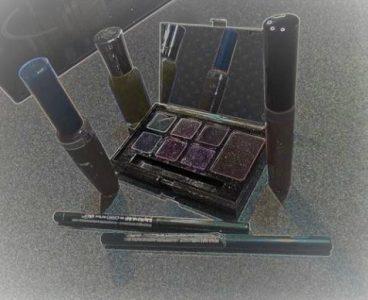 Stylized photo of cosmetics