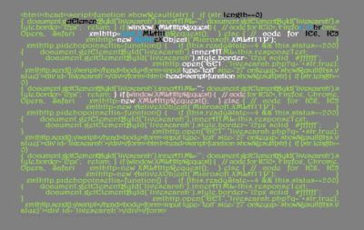 digital art computer code with highlighted colors art for poem Confess