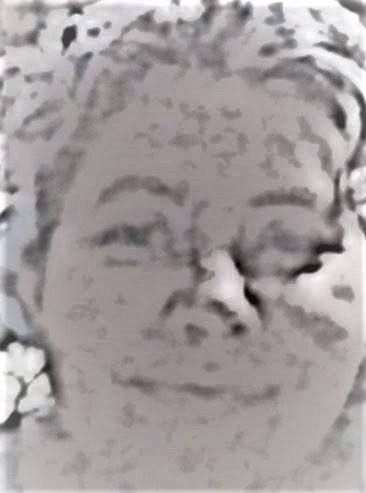 Stylized photo of woman with closed-smile