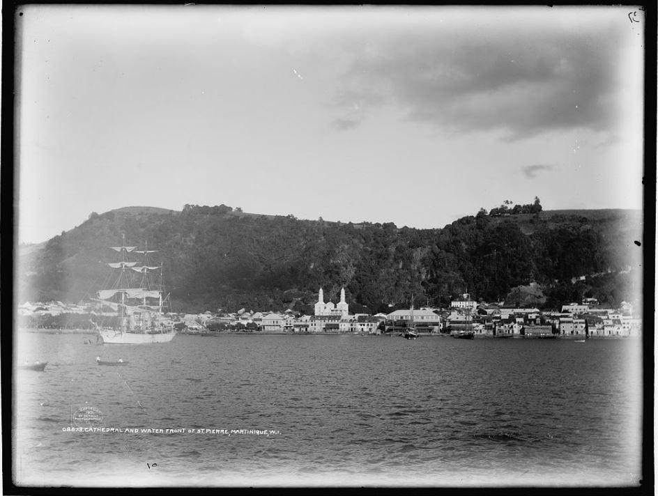 Public domain photo of thriving Saint-Pierre