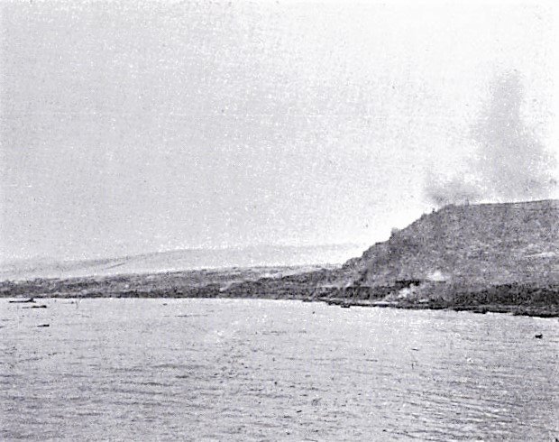 1902 photo of Saint-Pierre after volcano