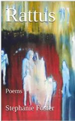 Kindle cover for poetry book Rattus