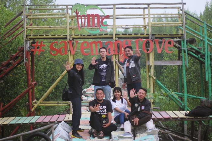 mempawah mangrove festival kampanyekan save mangrove