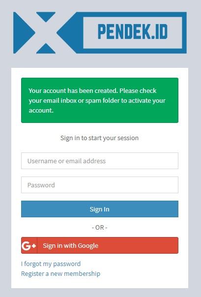 cara daftar menghasilkan uang secara online dengan pemendek url