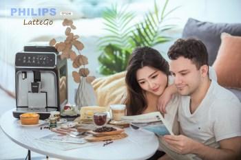 【咖啡機推薦】Philips飛利浦 全自動義式咖啡機EP3246 雲朵奶泡拿鐵LatteGo~在家一鍵做出漂亮漸層咖啡!