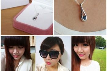 【飾品】亞緹蜜詩珠寶Artemis 藍寶石鈀金項鍊~送給自己畢業後的禮物