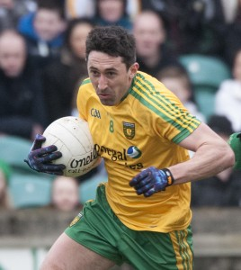 Rory Kavanagh in action for Donegal against Meath during this year's National Football League.