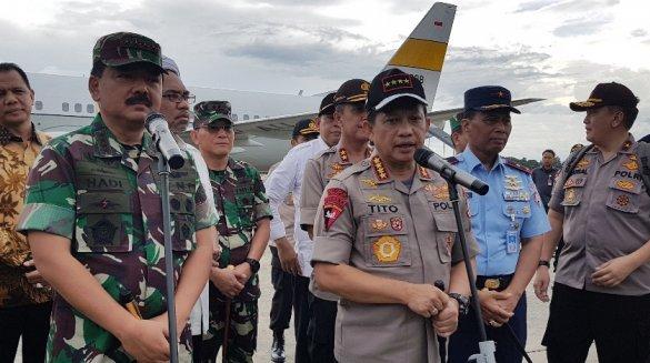 Kapolri dan Panglima TNI