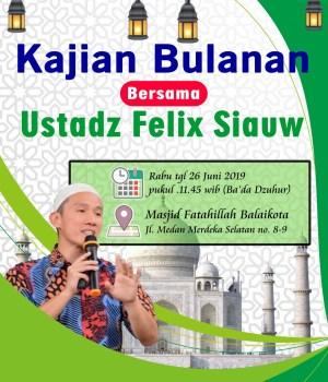 Kajian Felix Siauw di DKI Jakarta