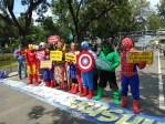 Pahlawan Marvel di Gambir
