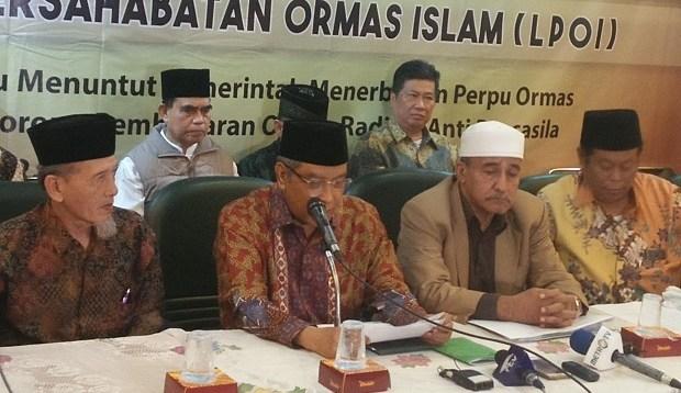 14 Ormas Islam Desak Pemerintah Percepat Pembubaran HTI