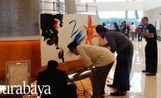 Permalink ke 'Jam Satu', A Trio Painters of Pop Art and Abstract Show Off At Fairfield