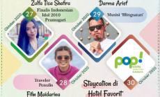 Permalink ke Sapa Sahabat #14, Ungkap Sisi Unik Pramugari, Penulis, Aksi Sosial Musisi 'Garang', Hingga Staycation di Hotel Pop Stasiun Kota