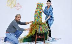 Permalink ke Kampanye Selamatkan Bumi, Dylla Gandeng Embran Nawawi Rancang Busana dari Sedotan Plastik