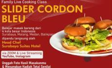 Permalink ke Gelar Cooking Class Virtual 4 Kota, Chef Surabaya Suites Hotel Akan Demo Masak Slider Cordon Bleu