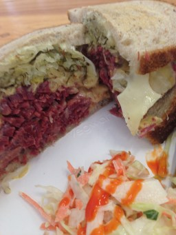 The Reuben from Monty's Deli in Bermondsey is EPIC! Salt beef, swiss cheese, sauerkraut and russian dressing on rye bread. Delicious.