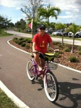 Bike ride around Clearwater Beach, FL