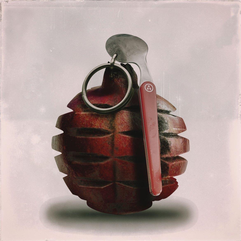 C'est de la bombe de manger une grenade à la petite cuillère...