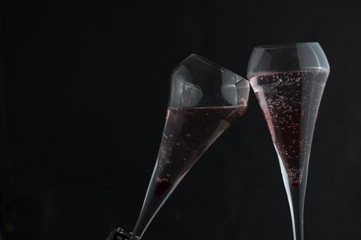 résultat de la prise de vue des coupes de champagnes