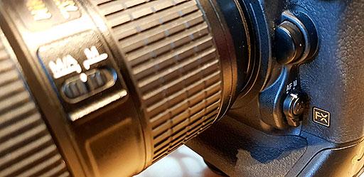 Illustration des commandes du Nikon D5 pour les réglages de l'autofocus