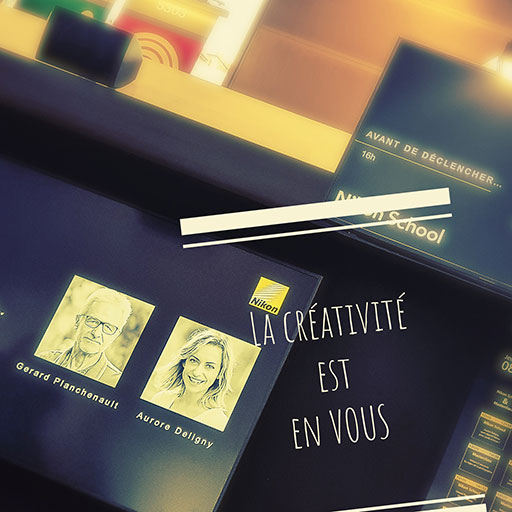 """""""La créativité est en vous"""" est le message fort de l'évolution de la photographie actuelle."""