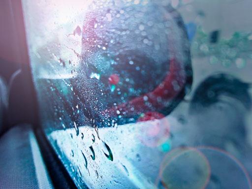 Les jours de pluie peuvent être beaux...