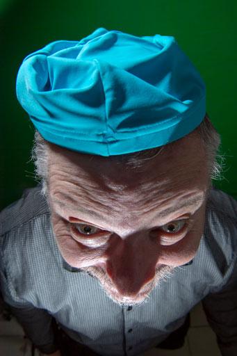 Image de base de mon autoportrait.