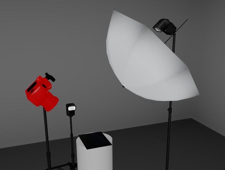Plan d'éclairage lumière directe et rasante