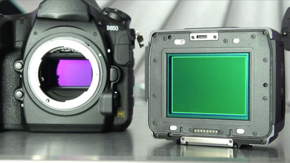 initiationphoto - types d'appareils - différence capteur Plein Format capteur Moyen Format